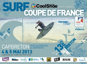Affiche CDF Capbreton